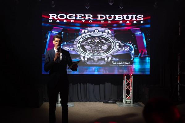 Roger Dubuis Huracan Launch photo 2