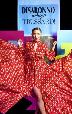 Disaronno Wears Trussardi photo 16
