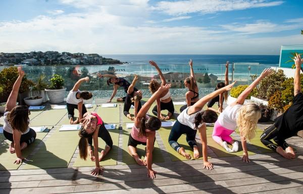 THINX Underwear Beachfront Yoga Class  photo 3