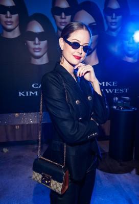 Carolina Lemke and Kim Kardashian West Launch Event photo 6