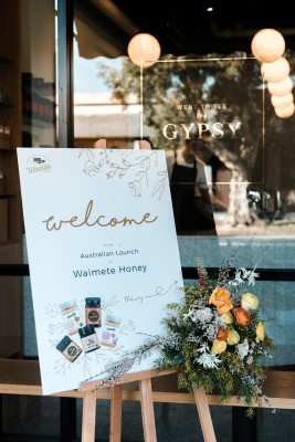 Waimete Honey Australian Launch photo 2