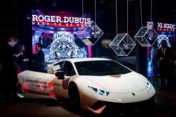 Roger Dubuis Huracan Launch photo 17