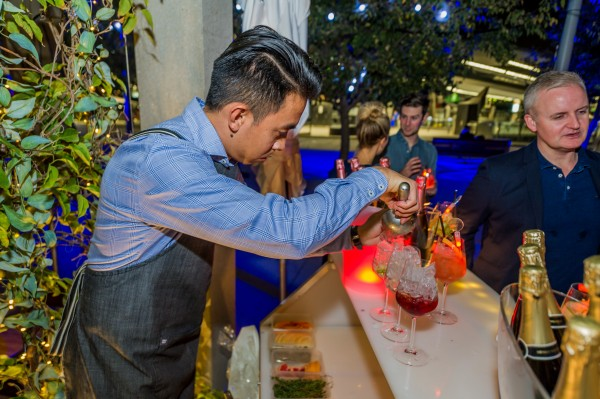 Chandon Pop Up Bar at Love.Fish photo 3