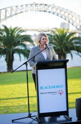 Blackmores and Special Olympics Australia Launch photo 2