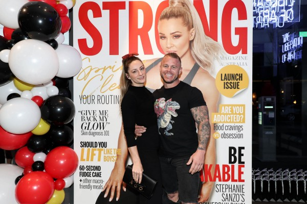 STRONG Fitness Magazine Australia Launch Event  photo 2