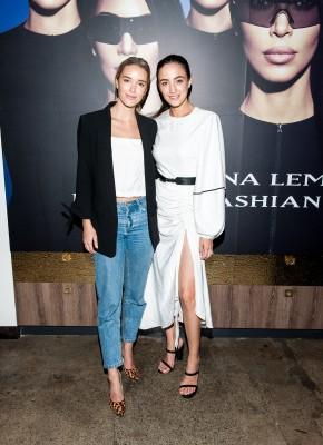 Carolina Lemke and Kim Kardashian West Launch Event photo 7