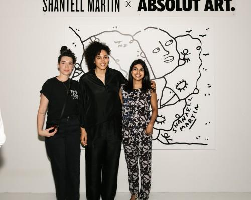 SHANTELL MARTIN X ABSOLUT ART photo 30