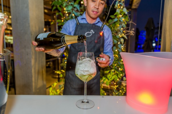 Chandon Pop Up Bar at Love.Fish photo 1