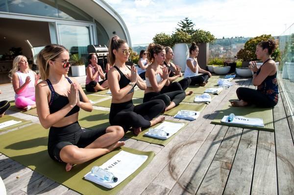 THINX Underwear Beachfront Yoga Class  photo 6