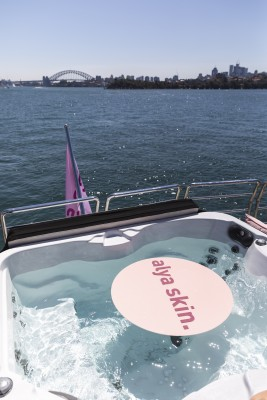 Alya Micellar Cleanser Launch, on Ghost II Superyacht  photo 43