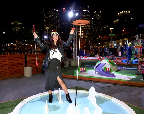 Pixar Putt Sydney launch photo 14