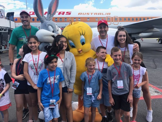 Fitzy & Wippa and Qantas Fly Families to QLD photo 7